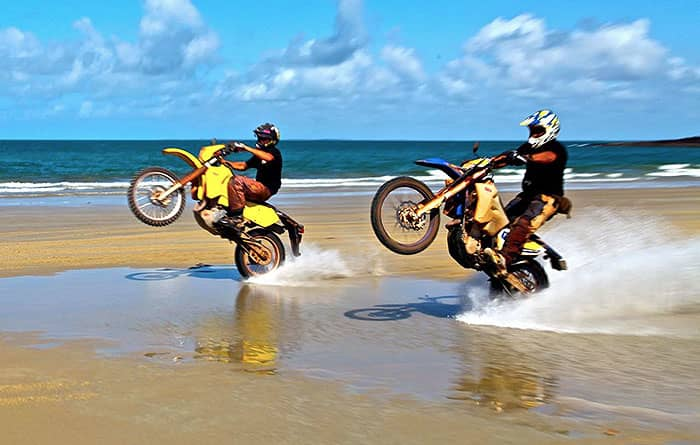 Dirtbike Riding Ability for Cape York Tours